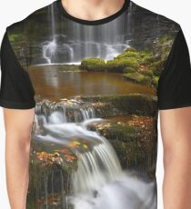 Flowing Down Graphic T-Shirt