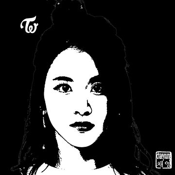 twice chaeyoung - threshold (on black) by theultrafan