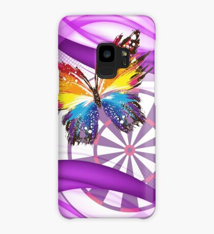 Butterfly And Dartboard Ladies Darts Shirt Case/Skin for Samsung Galaxy