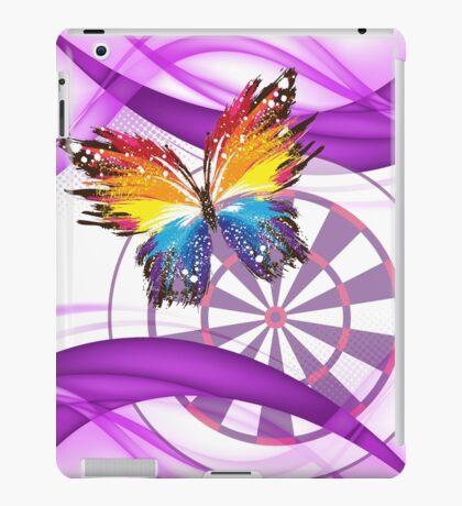Butterfly And Dartboard Ladies Darts Shirt iPad Case/Skin