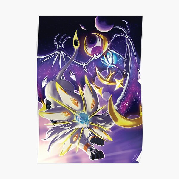 [Pokemon] Solgaleo & Lunala Poster