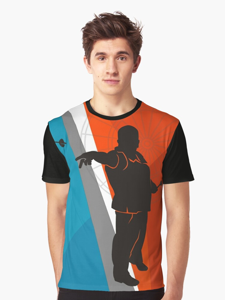Nice Form Darts Shirt Graphic T-Shirt Front