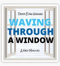 Waving Through a Window (Dear Evan Hansen) Sticker
