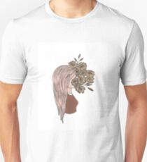 flower face T-Shirt