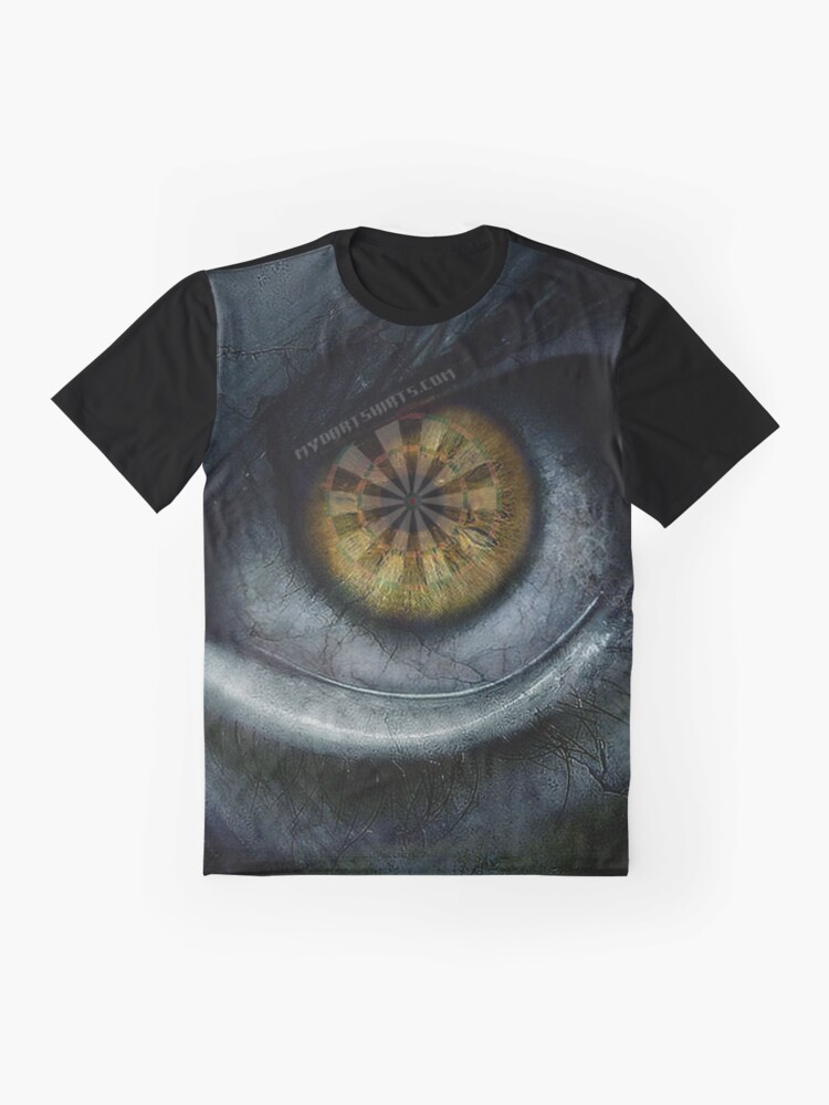 Alternate view of Evil Eye Darts Focus Graphic T-Shirt