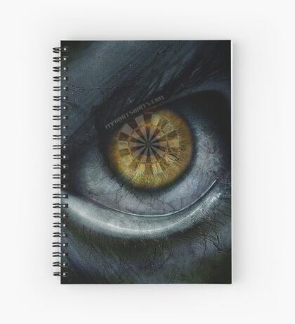 Evil Eye Darts Focus Spiral Notebook