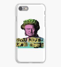Donald J Trump God Save The Queen - Sex Pistols iPhone Case/Skin
