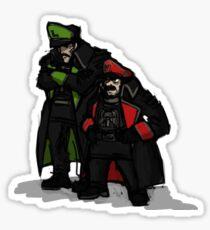 Commissar plumbers  Sticker