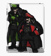 Commissar plumbers  iPad Case/Skin