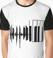 Piano Graphic T-Shirt