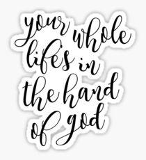 Hand of God Sticker