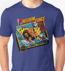Freedom Force - NES Box Art T-Shirt