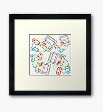 Super Famicom Framed Print