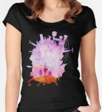 Howls Horizon Women's Fitted Scoop T-Shirt