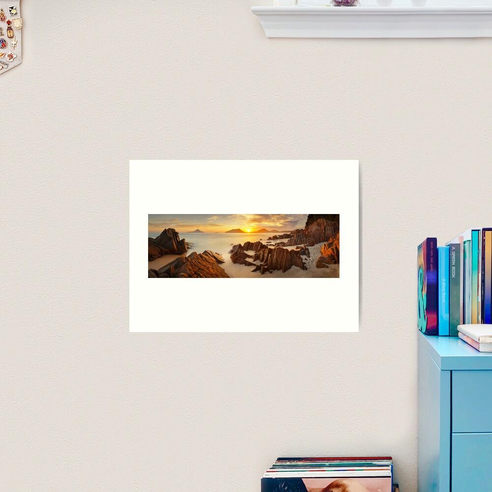 Shoal Bay Sunrise, New South Wales, Australia Art Print