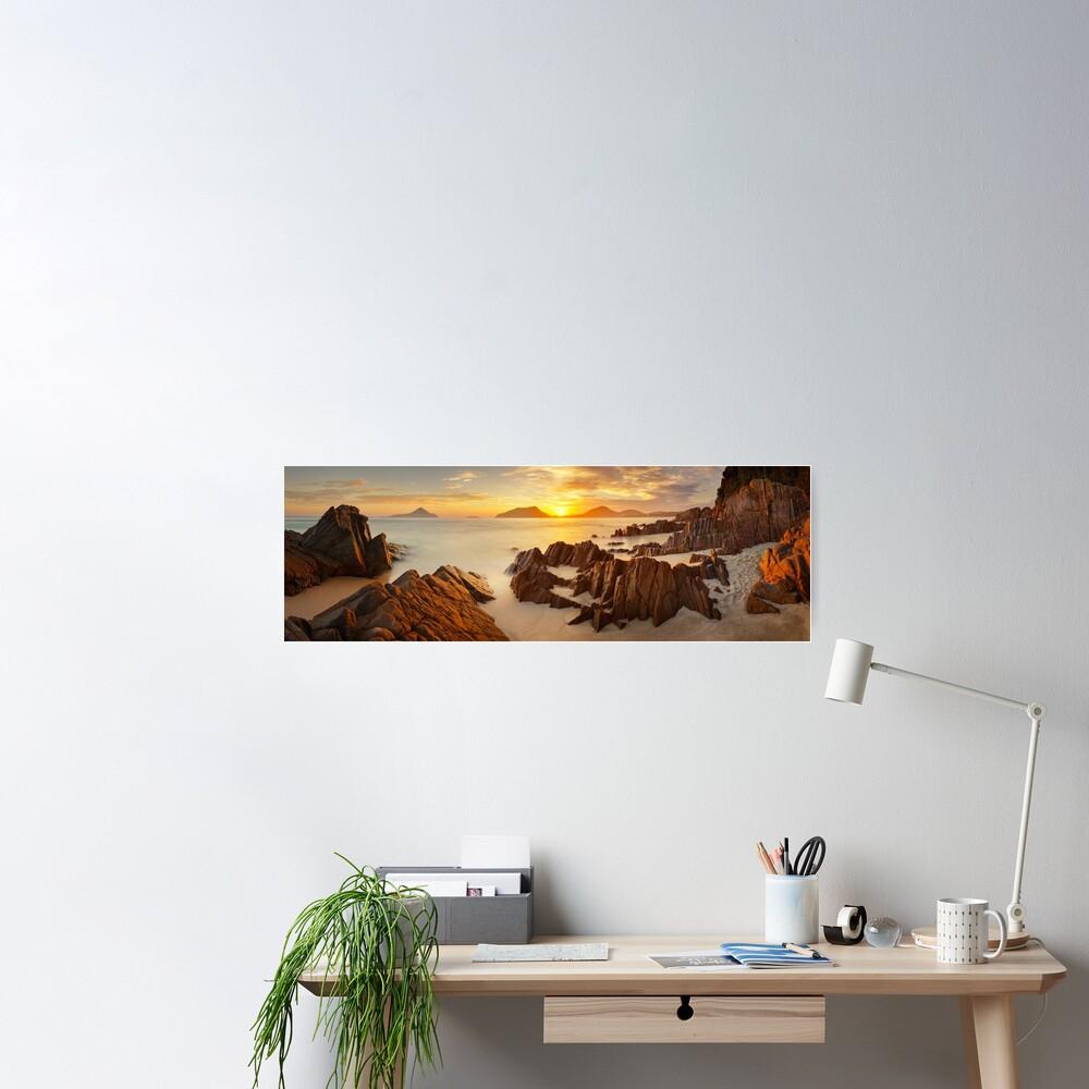 Shoal Bay Sunrise, New South Wales, Australia Poster