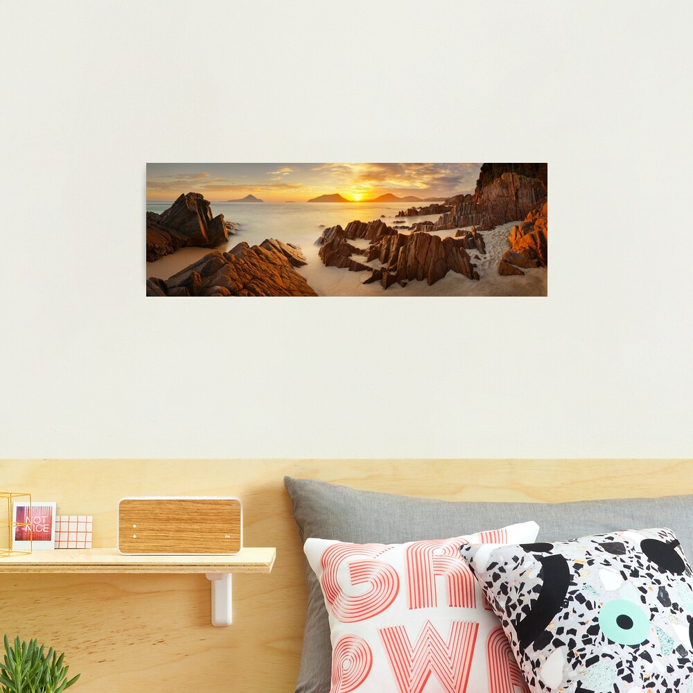 Shoal Bay Sunrise, New South Wales, Australia Photographic Print
