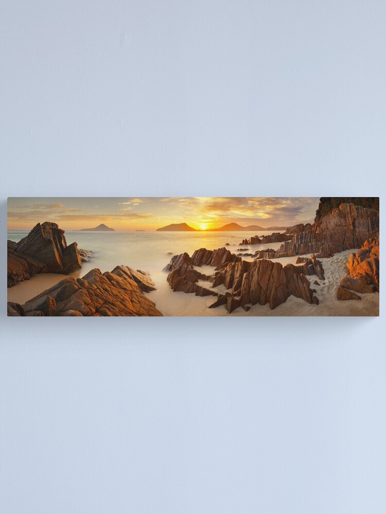 Alternate view of Shoal Bay Sunrise, New South Wales, Australia Canvas Print