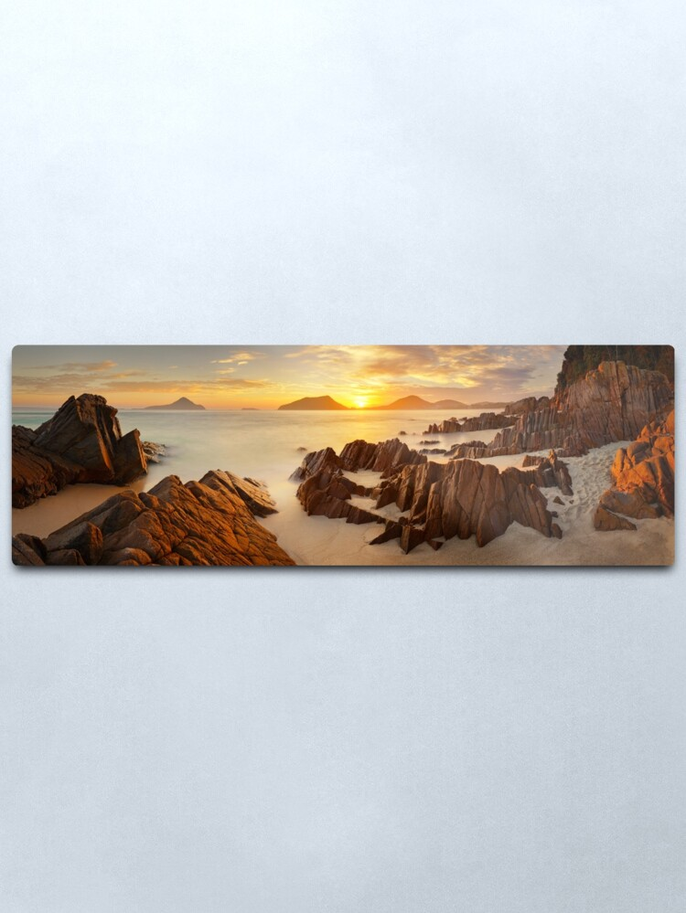 Alternate view of Shoal Bay Sunrise, New South Wales, Australia Metal Print