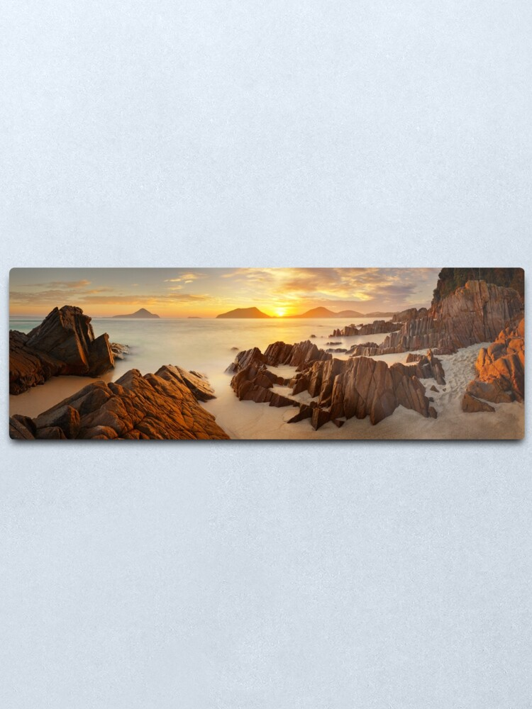 Alternate view of Shoal Bay Sunrise, New South Wales, Australia Metal Print