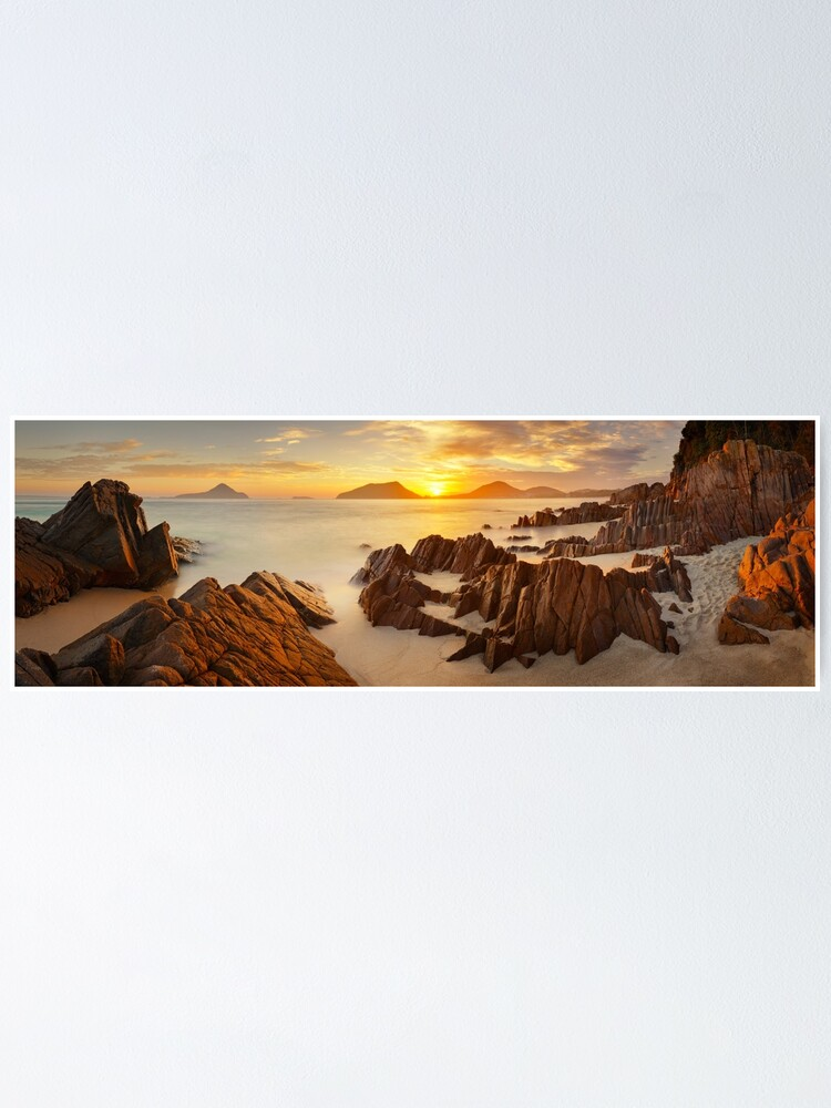Alternate view of Shoal Bay Sunrise, New South Wales, Australia Poster