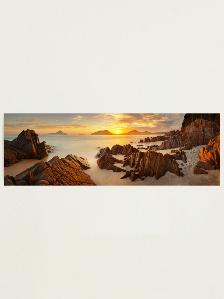 Alternate view of Shoal Bay Sunrise, New South Wales, Australia Photographic Print