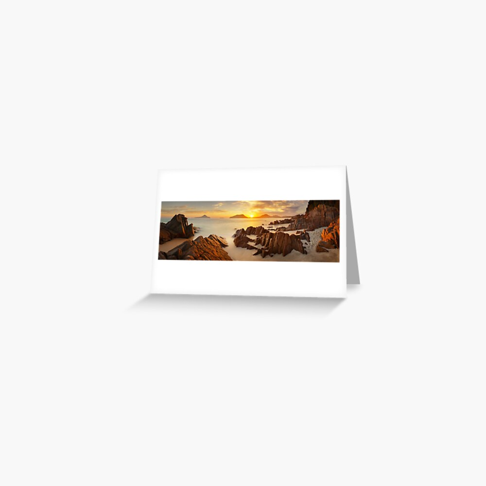 Shoal Bay Sunrise, New South Wales, Australia Greeting Card
