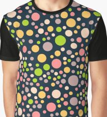 Pattern with color polka dots Graphic T-Shirt