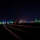 Night Tracks/Redmond by Richard Bozarth