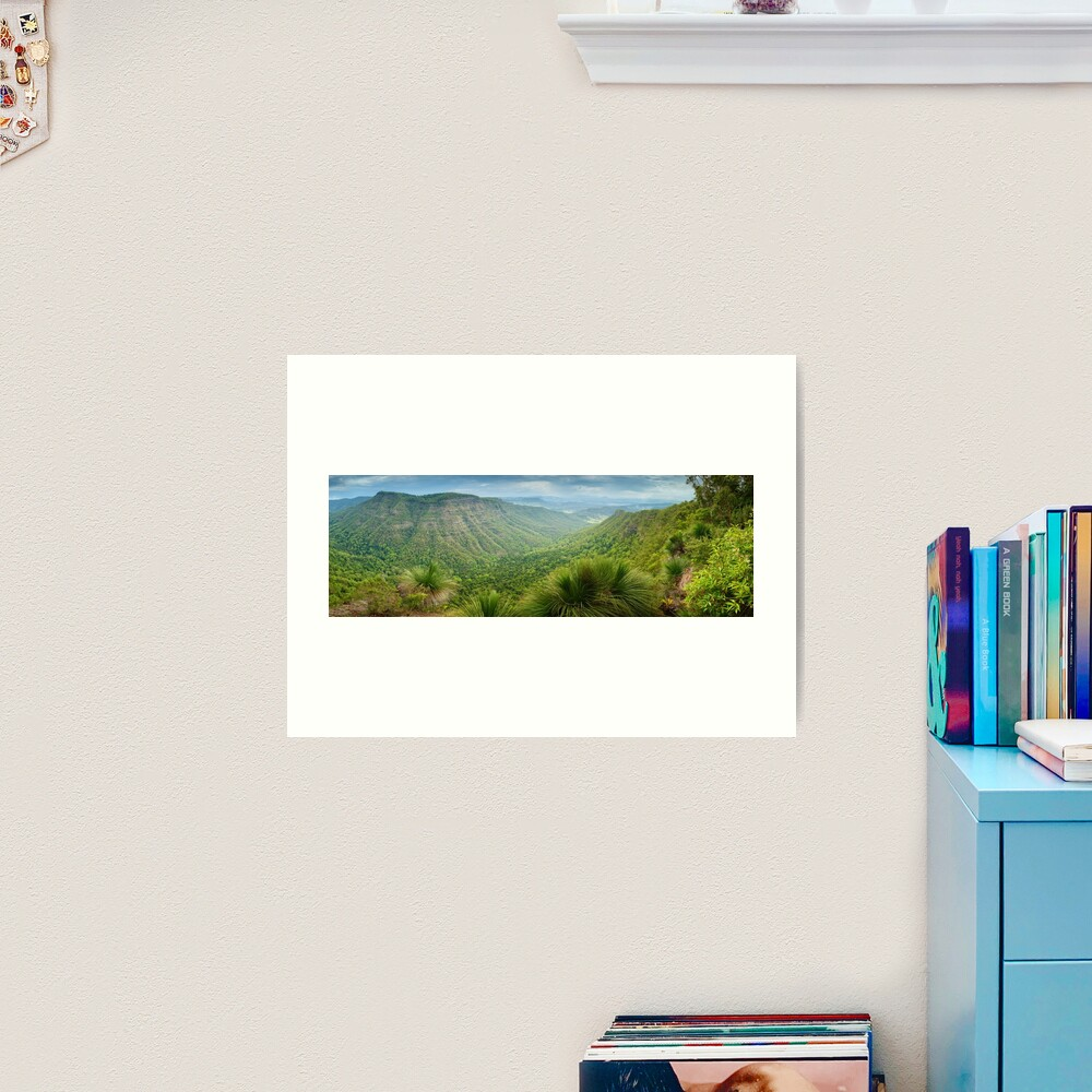 Moonlight Crag, Lamington National Park, Queensland, Australia Art Print