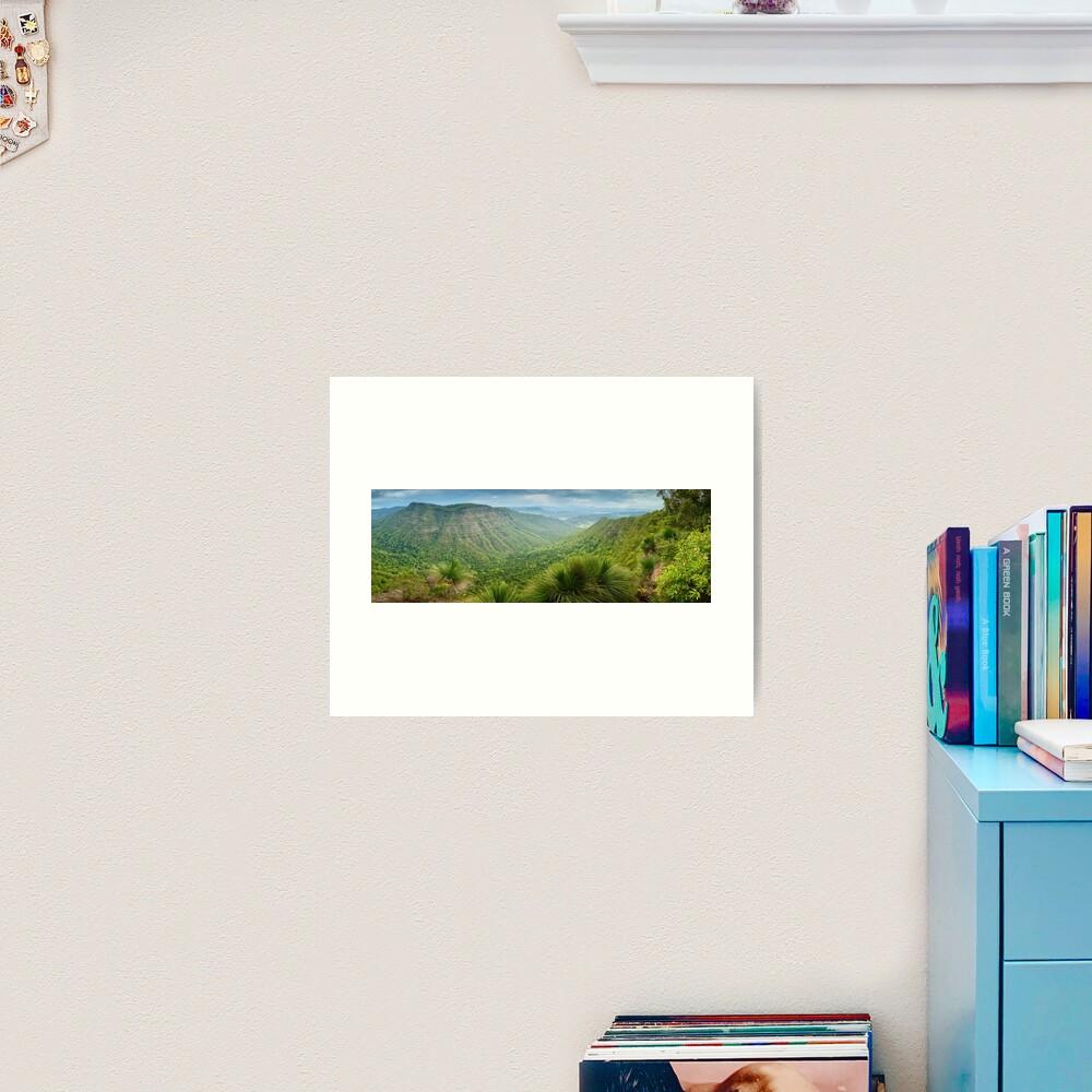 Moonlight Crag, Lamington National Park, Queensland, Australia Art Print