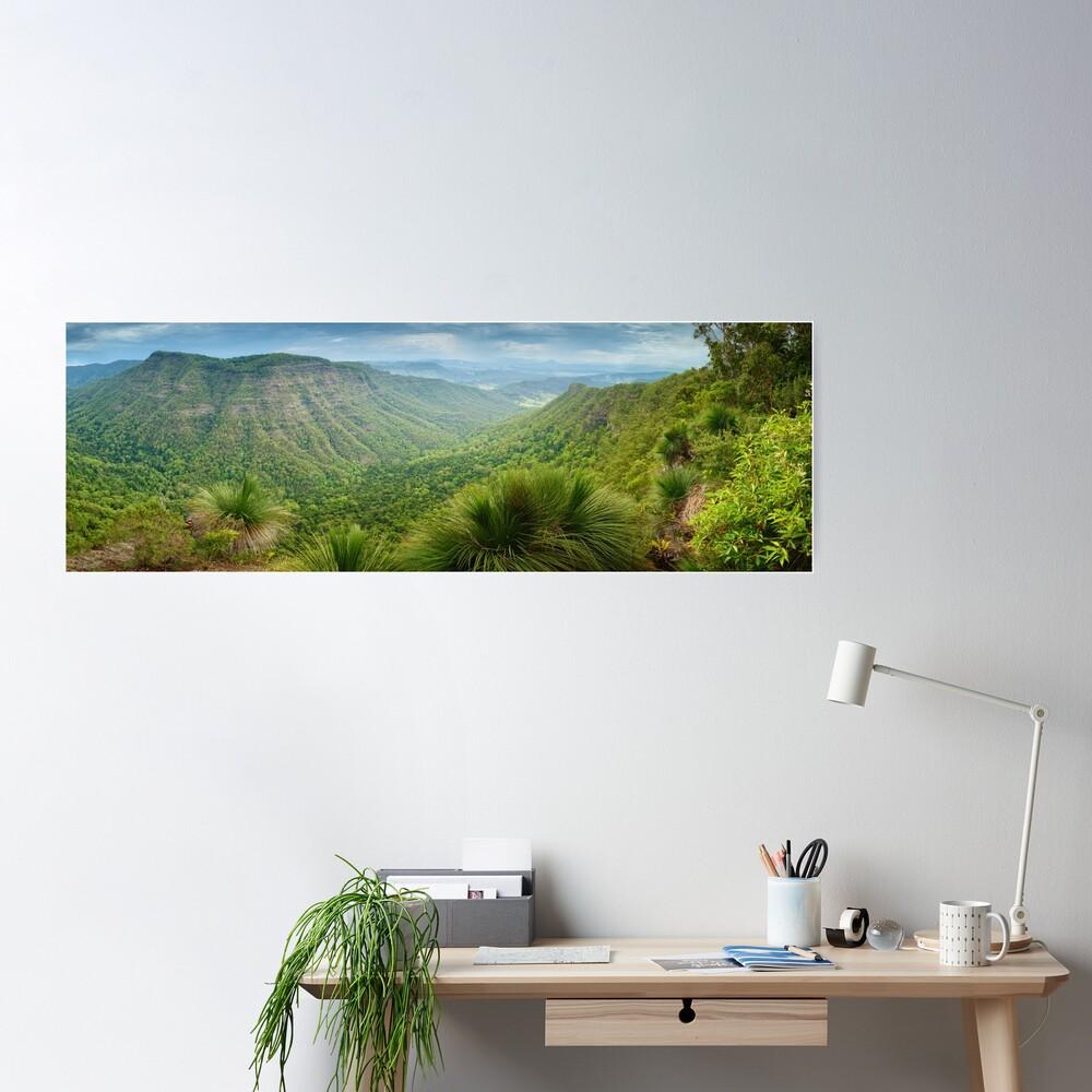Moonlight Crag, Lamington National Park, Queensland, Australia Poster