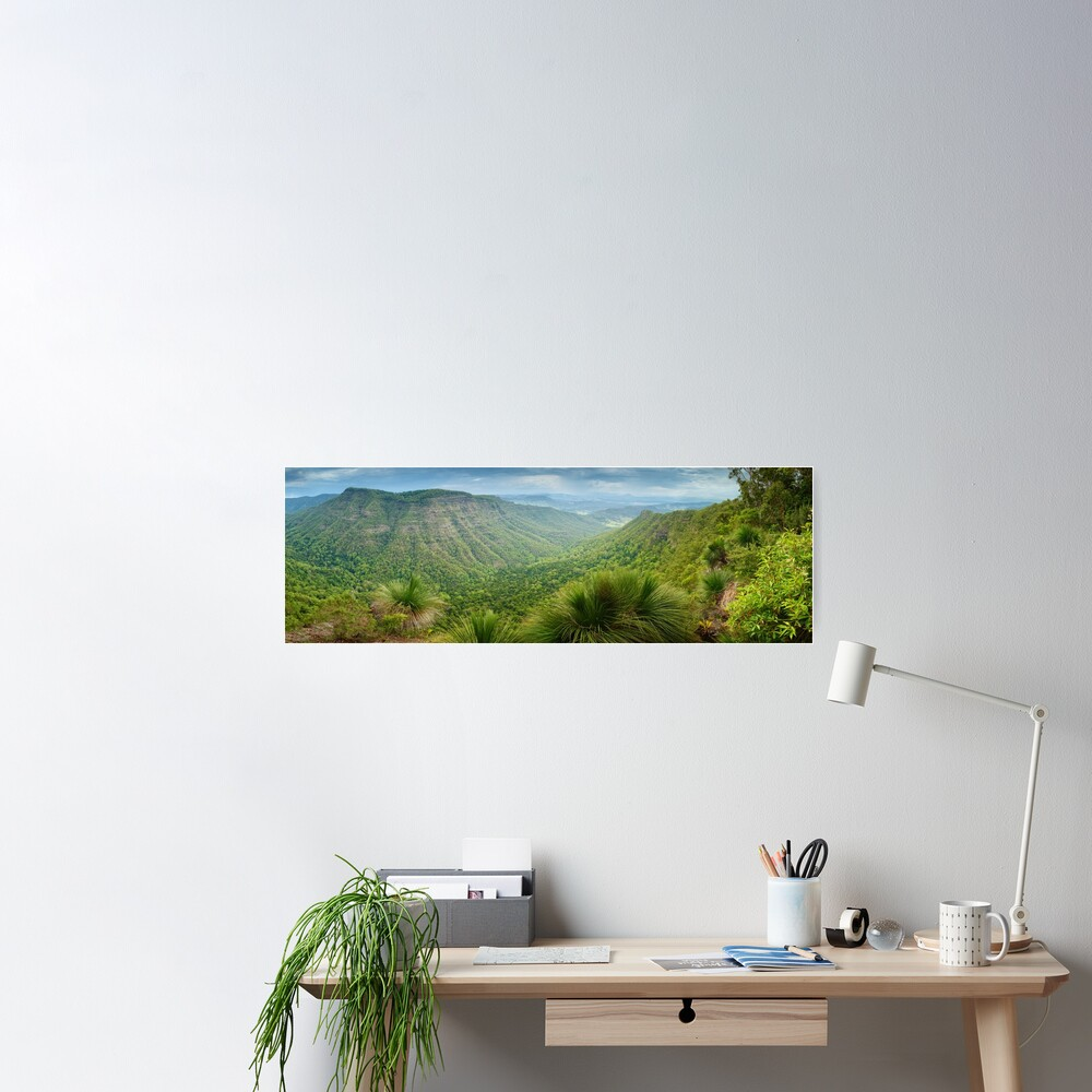 Moonlight Crag, Lamington National Park, Queensland, Australia Poster