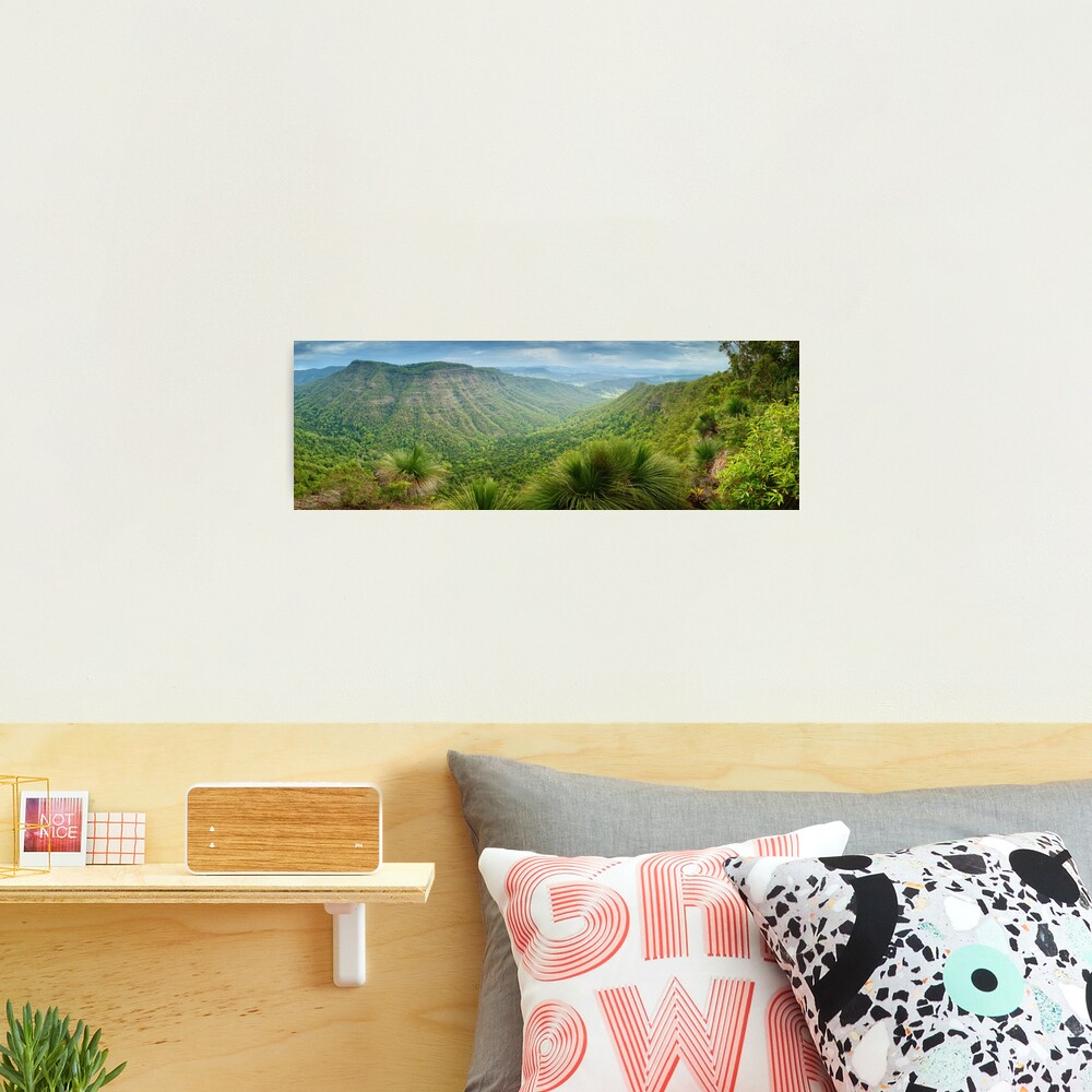 Moonlight Crag, Lamington National Park, Queensland, Australia Photographic Print