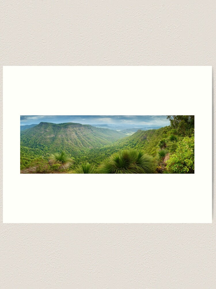 Alternate view of Moonlight Crag, Lamington National Park, Queensland, Australia Art Print