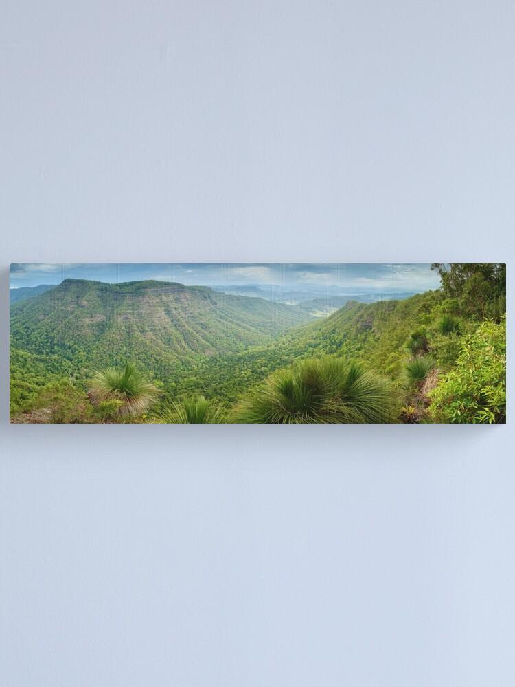 Alternate view of Moonlight Crag, Lamington National Park, Queensland, Australia Canvas Print