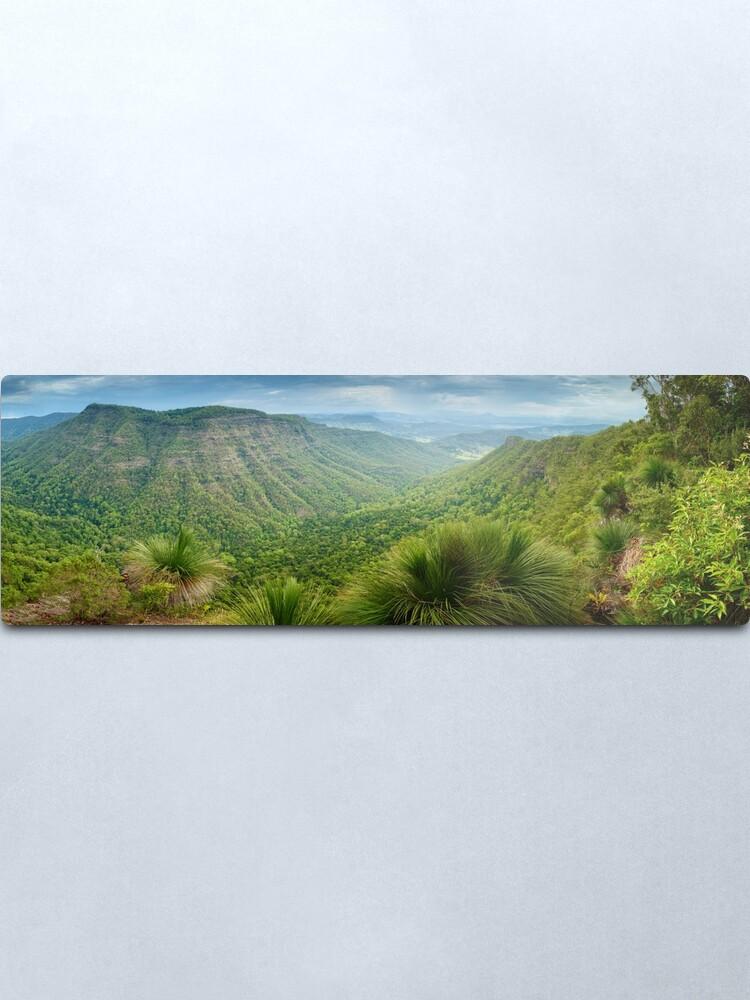 Alternate view of Moonlight Crag, Lamington National Park, Queensland, Australia Metal Print