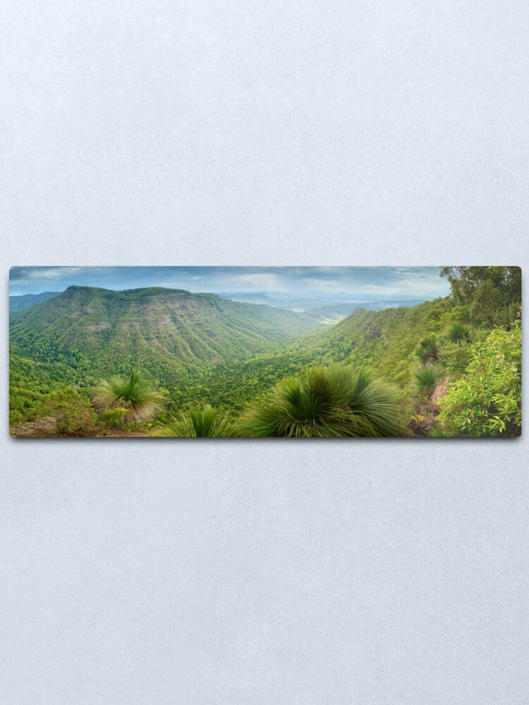 Alternate view of Moonlight Crag, Lamington National Park, Queensland, Australia Metal Print