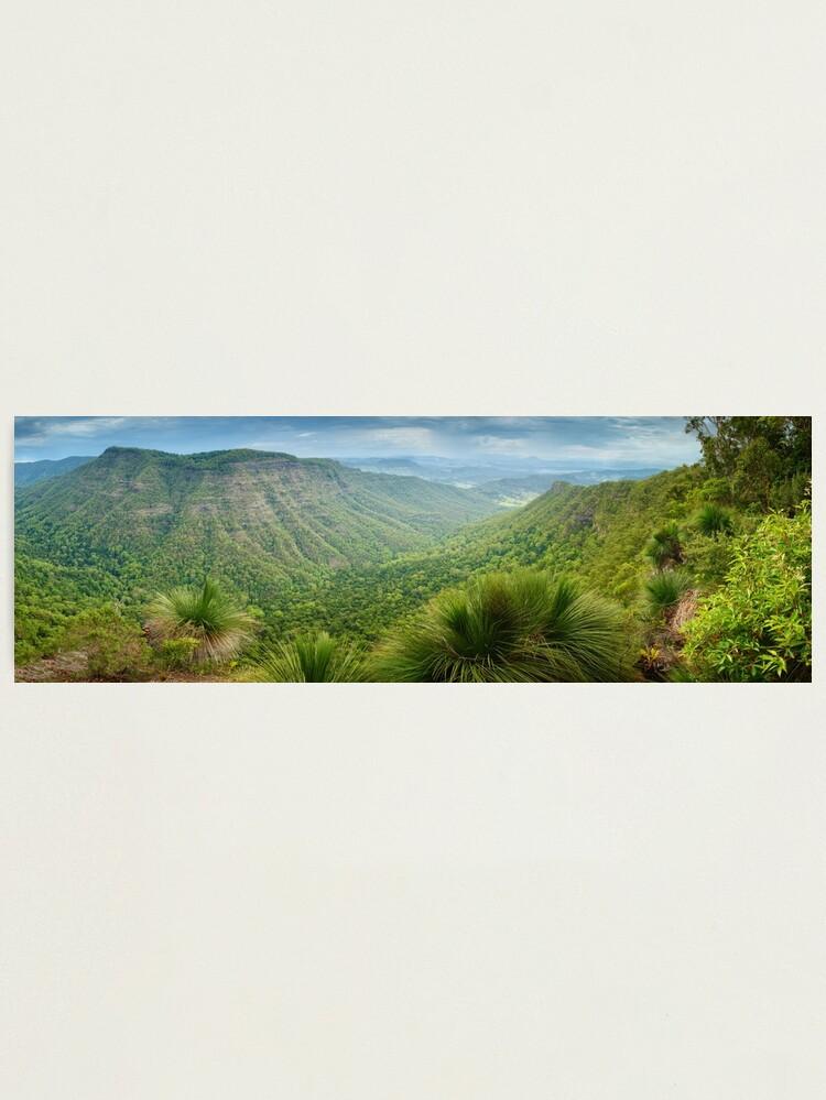 Alternate view of Moonlight Crag, Lamington National Park, Queensland, Australia Photographic Print