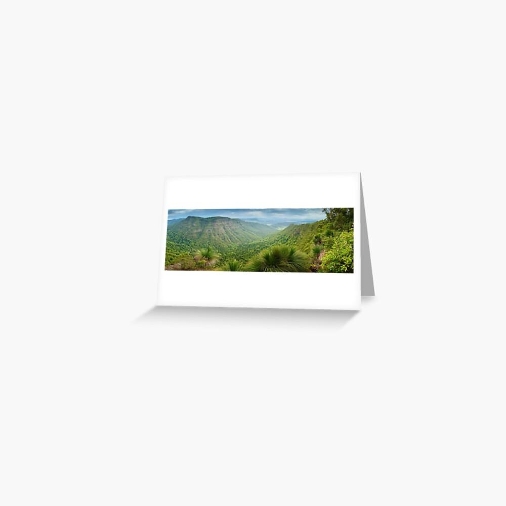 Moonlight Crag, Lamington National Park, Queensland, Australia Greeting Card