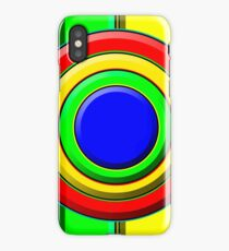.Pattern A-5. .Expanded Scale Centered. iPhone Case