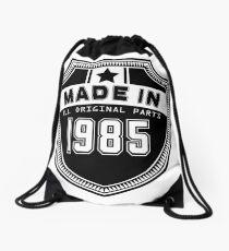 Made In 1985 All Original Parts Drawstring Bag