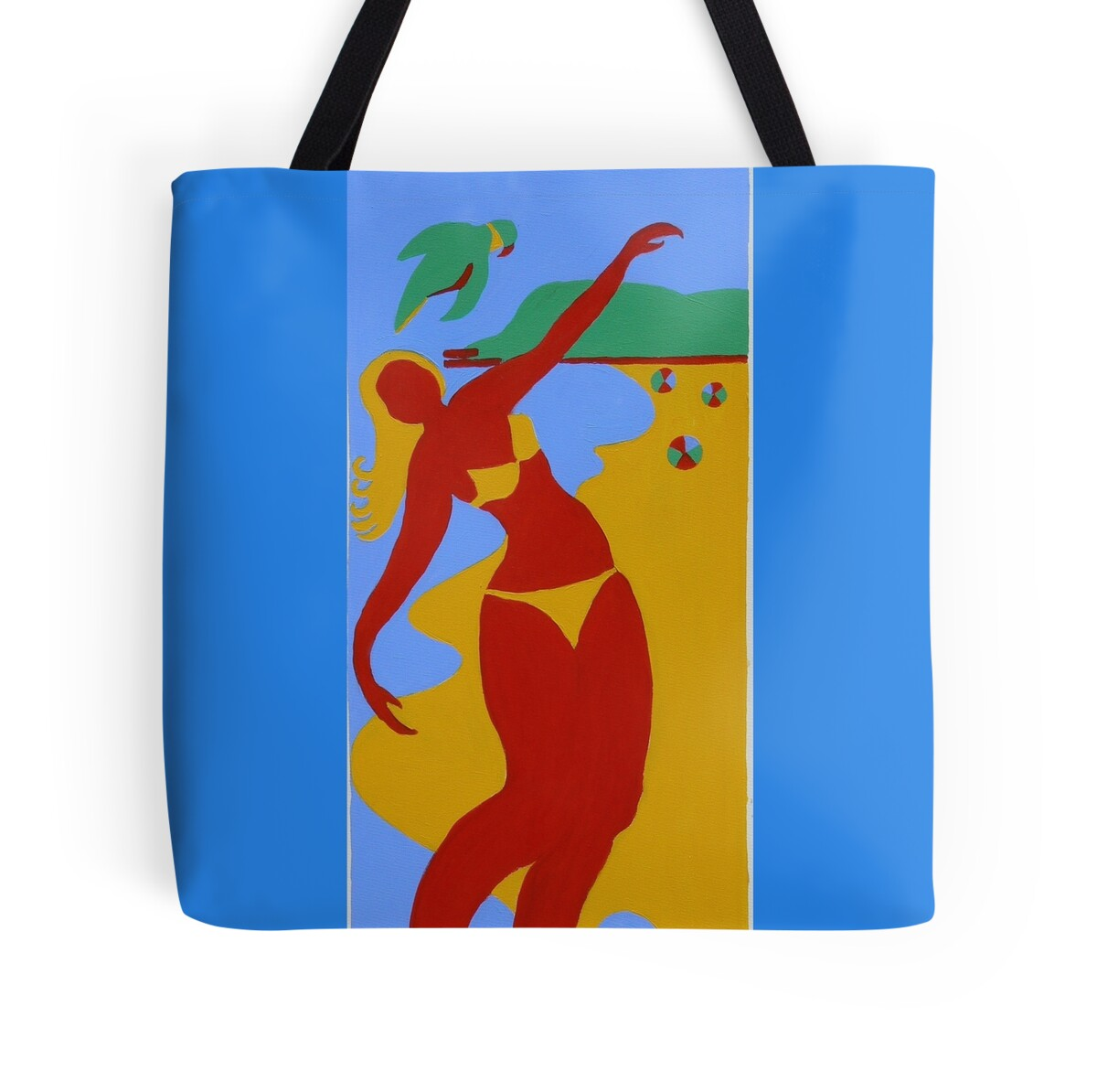 Baby Gifts Gold Coast Australia : Quot gold coast red bikini girl tote bags by virginia mcgowan