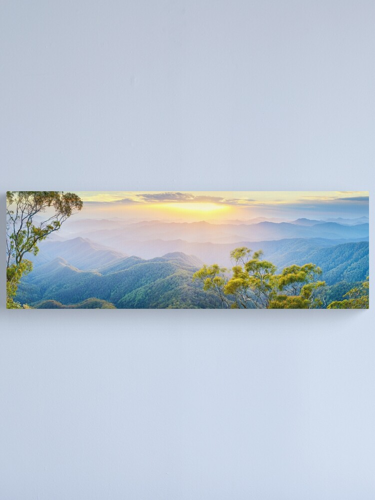 Alternate view of Point Lookout, New England National Park, New South Wales, Australia Canvas Print
