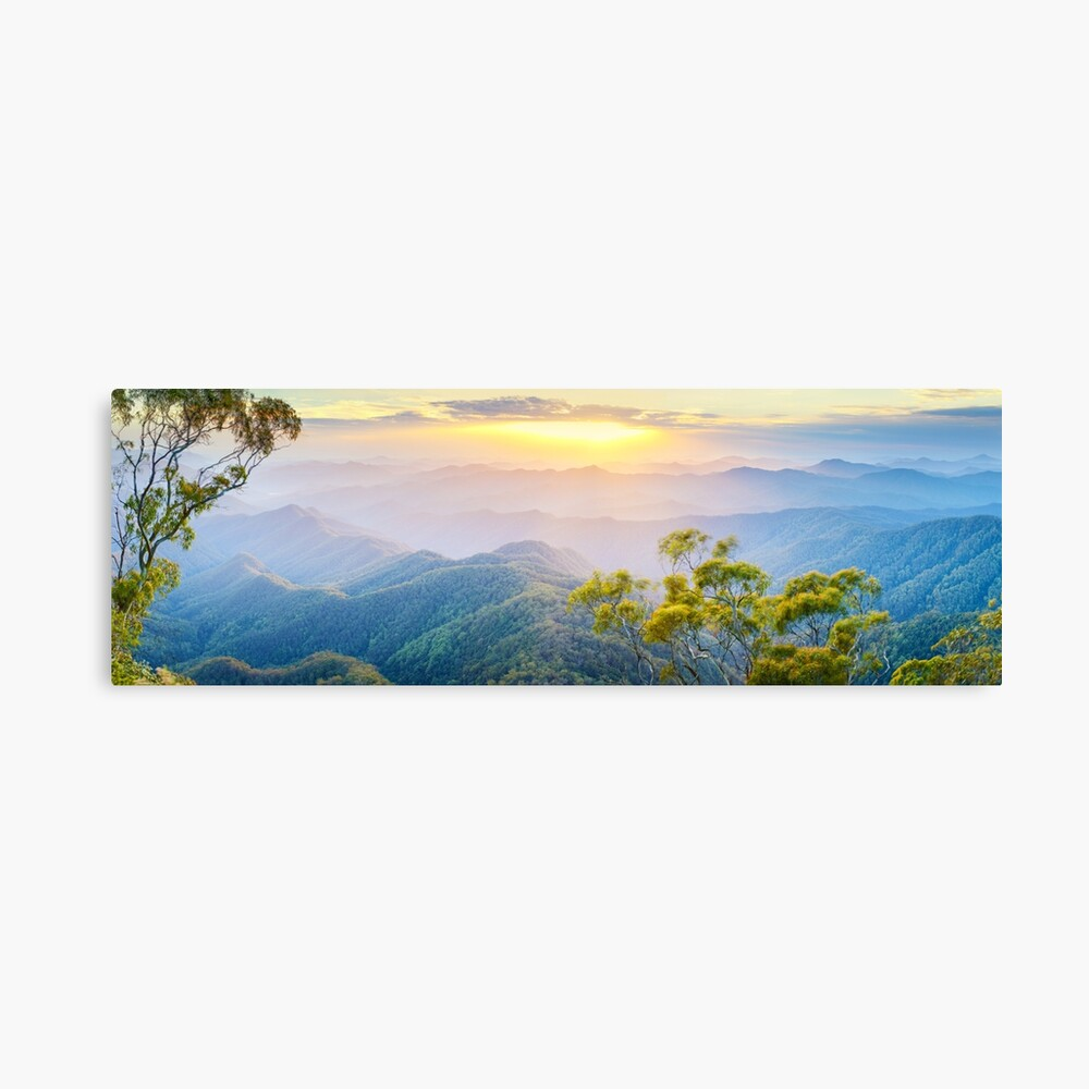 Point Lookout, New England National Park, New South Wales, Australia Canvas Print