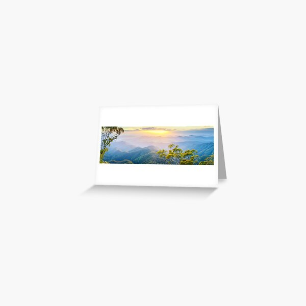 Point Lookout, New England National Park, New South Wales, Australia Greeting Card