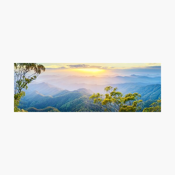 Point Lookout, New England National Park, New South Wales, Australia Photographic Print