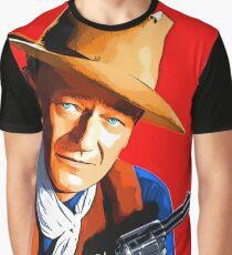 John Wayne in Rio Bravo Grafik T-Shirt
