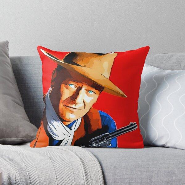 John Wayne en Río Bravo Cojín