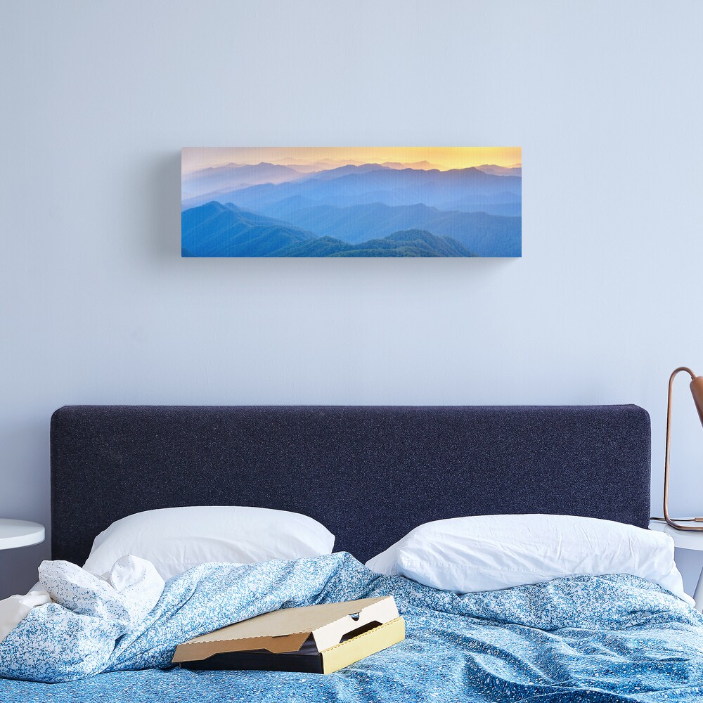 Layered Dawn, New England National Park, New South Wales, Australia Canvas Print